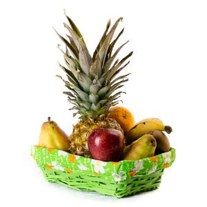 Desayuno con fruta - Desayunos con sonrisa