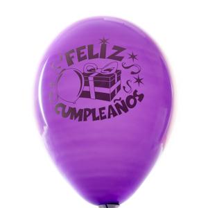 Globo de cumpleaños - Desayunos con sonrisa